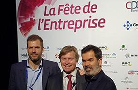 Fête de l'Entreprise : Alptis remet un Trophée à la société JN2A SARL / Greenwishes Lyon