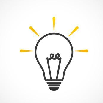 dessin d'une ampoule