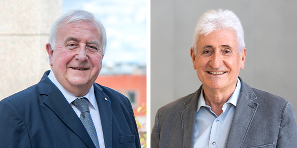 Georges Coudert et Bernard Bonnin Alptis
