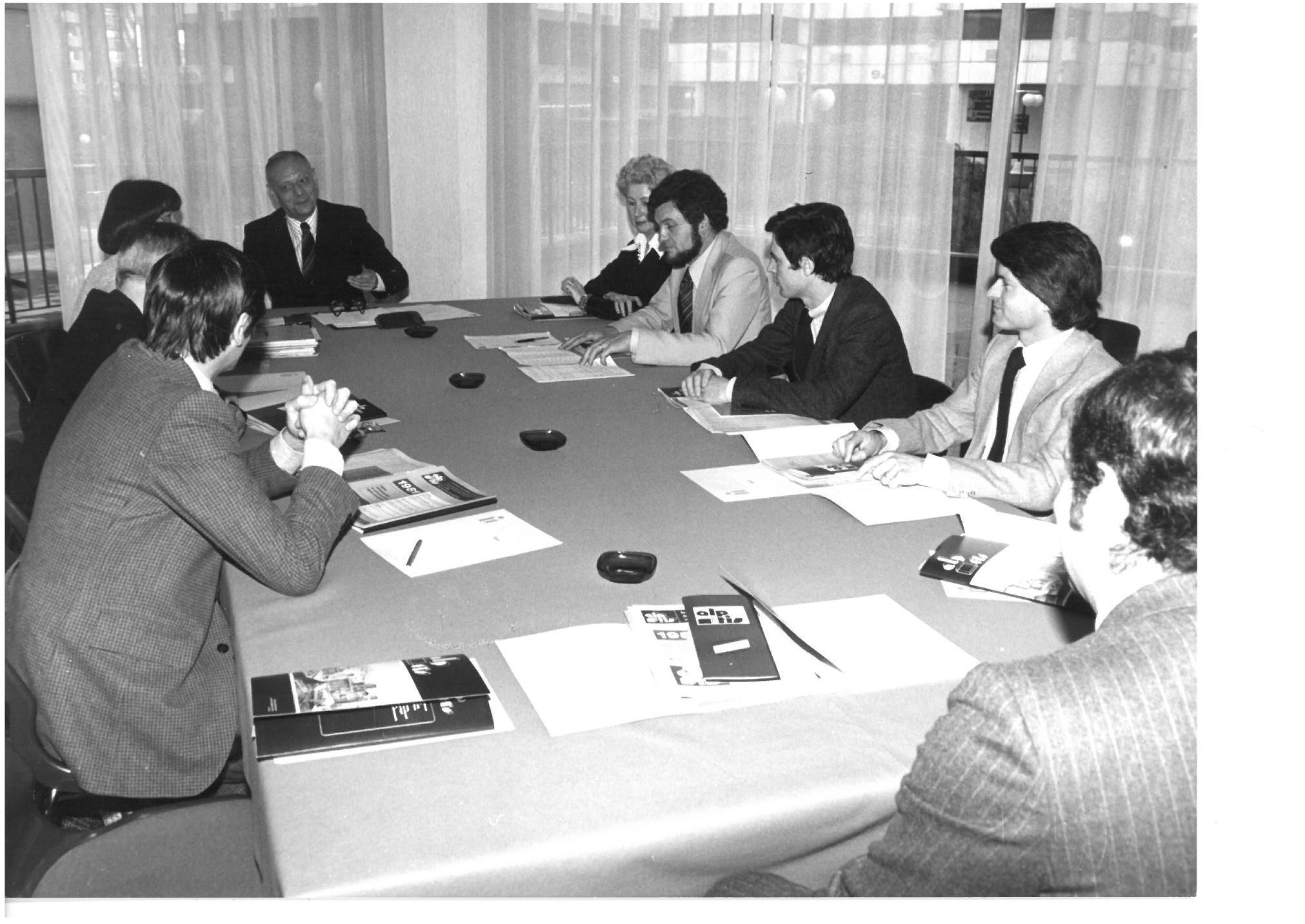 40 ans Alptis Mai 1981 - Réunion comité Bordeaux