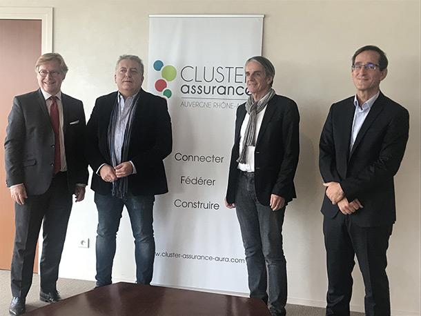 cluster assurance AuRA conférence de presse