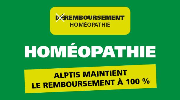Déremboursement homéopathie : Alptis maintient le remboursement à 100%