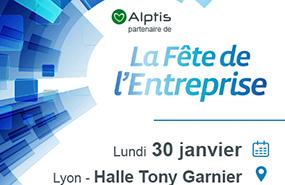 Fête de l'Entreprise 2017 : Alptis partenaire