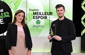 Fête de l'Entreprise : Alptis remet un Trophée à Oé