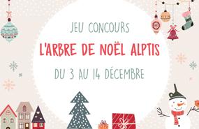Jeu concours Facebook : Arbre de Noël Alptis