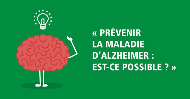 Maladie Alzheimer prévention conférence