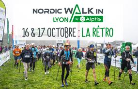Succès pour NordicWalkin'Lyon by Alptis !