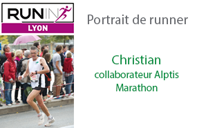 Run In Lyon : « Cette année, c'est les 40 ans d'Alptis, j'ai décidé de me lancer dans le marathon »