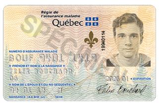 Carte Soleil santé Québec RAMQ