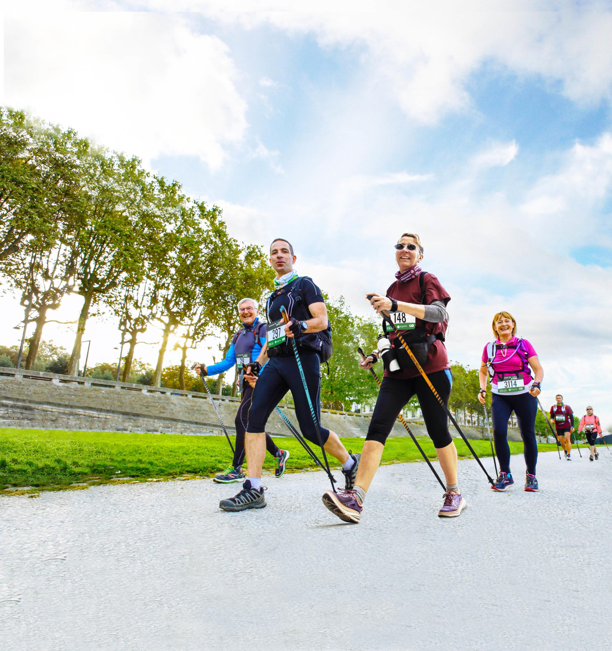 Marche nordique : favoriser la santé, le bien-être et l'activité physique en entreprise