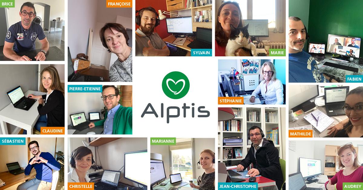 Le télétravail initié depuis 2019 chez Alptis