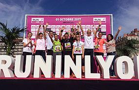 Le succès au rendez-vous de Run in Lyon