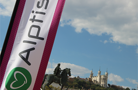 Run in Lyon 2018… tous avec la #teamalptis !