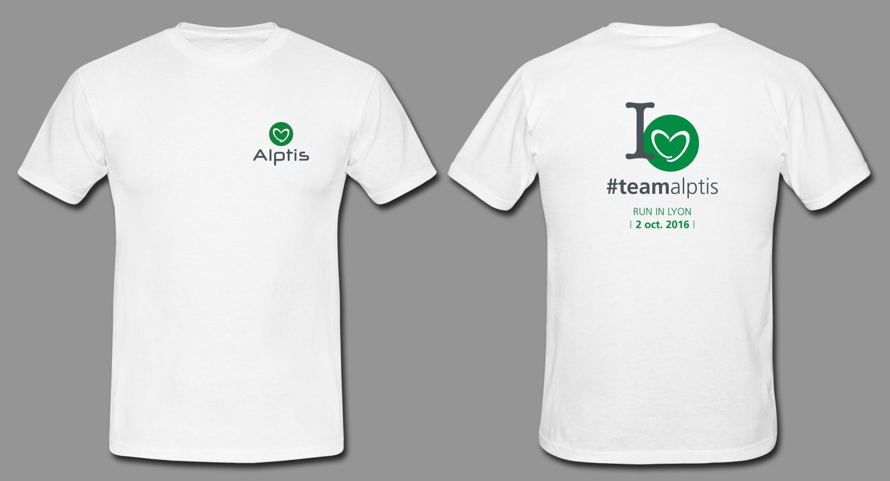 Run In Lyon 2016 T-Shirt Alptis