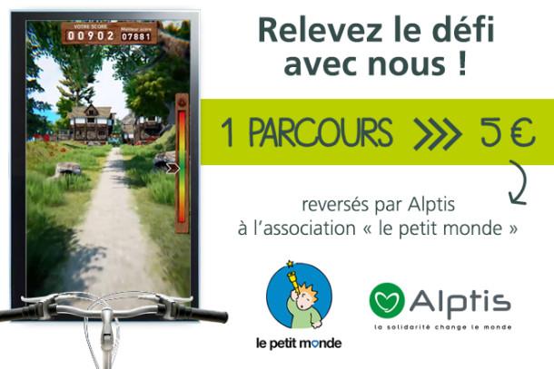 Run In Lyon Défi Solidaire Alptis Le Petit Monde