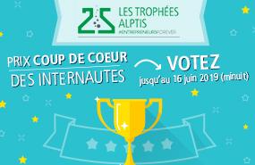 Trophées Alptis du 25 : choisissez votre start-up préférée !