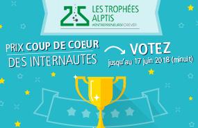 Les Trophées Alptis du 25 : votez pour votre start-up préférée !