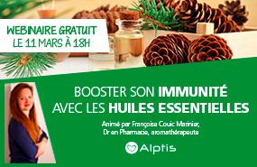 Webinaire gratuit : Booster son immunité avec les huiles essentielles